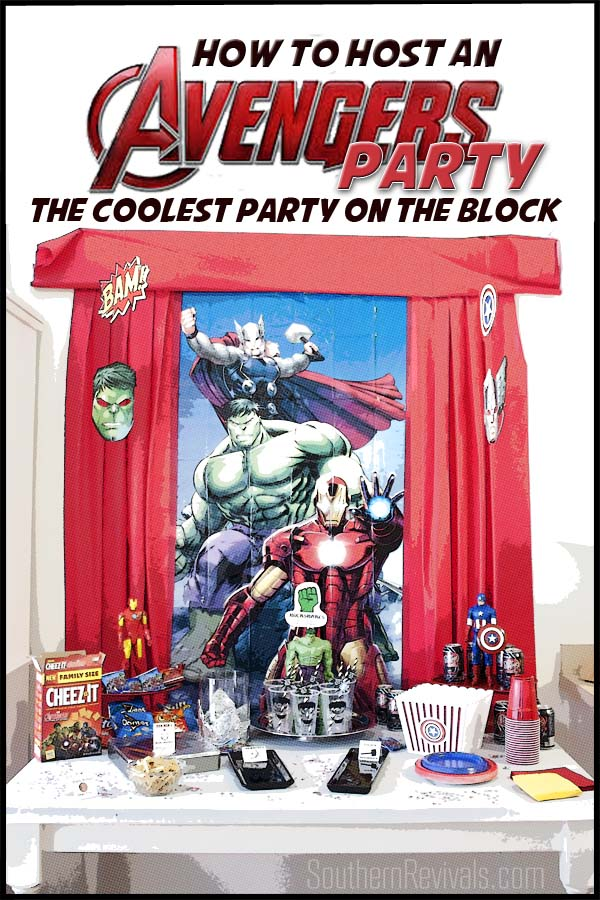 Host an Amazing Avengers Party Ideas Recipes Free Printables