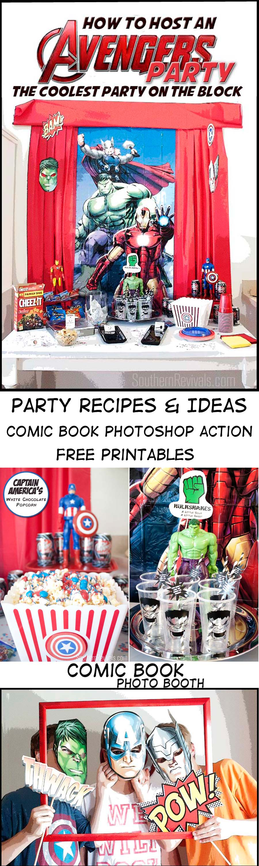 Avengers Movie Party Ideas