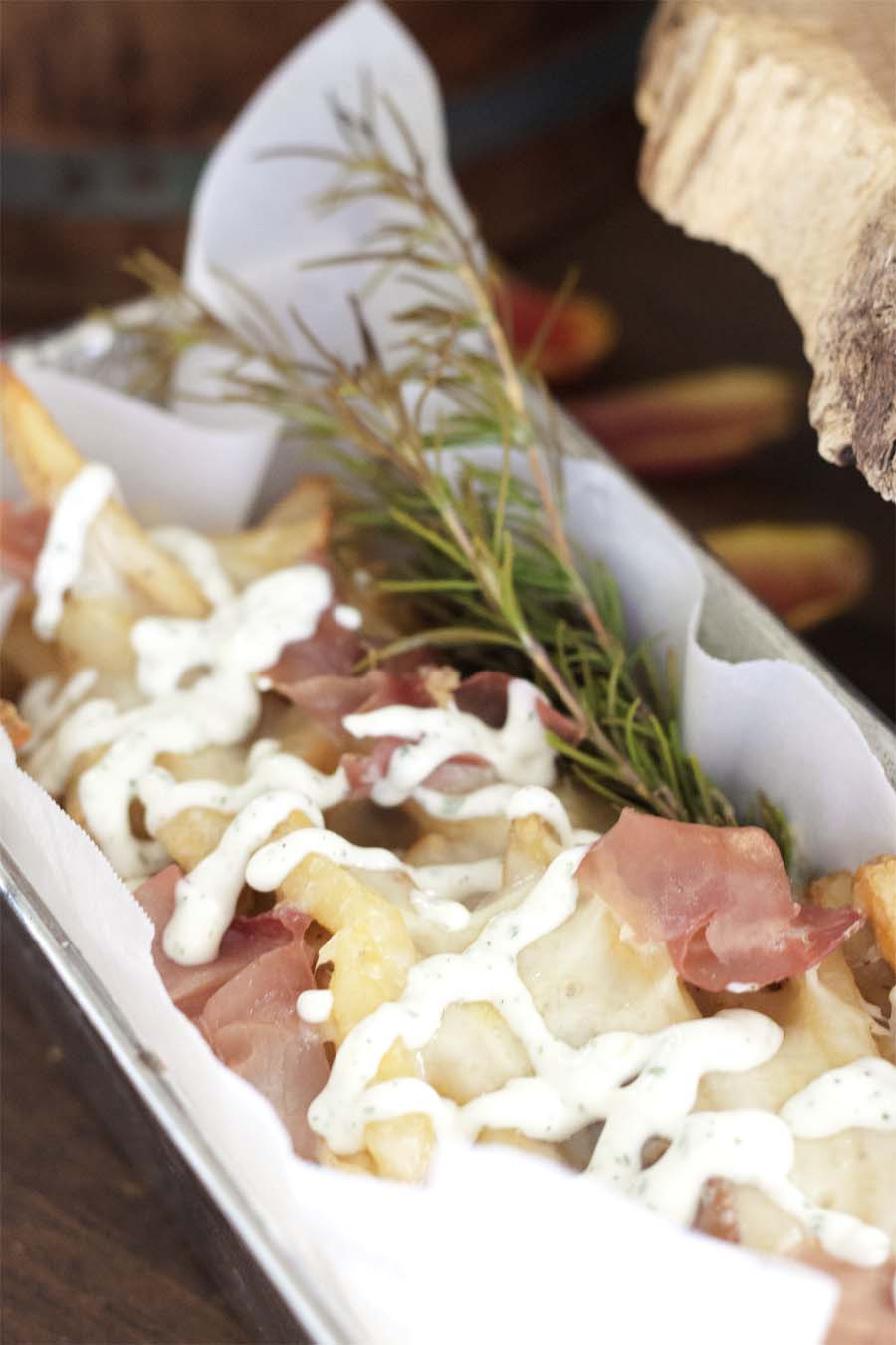 Loaded White Truffle Rosemary Fries
