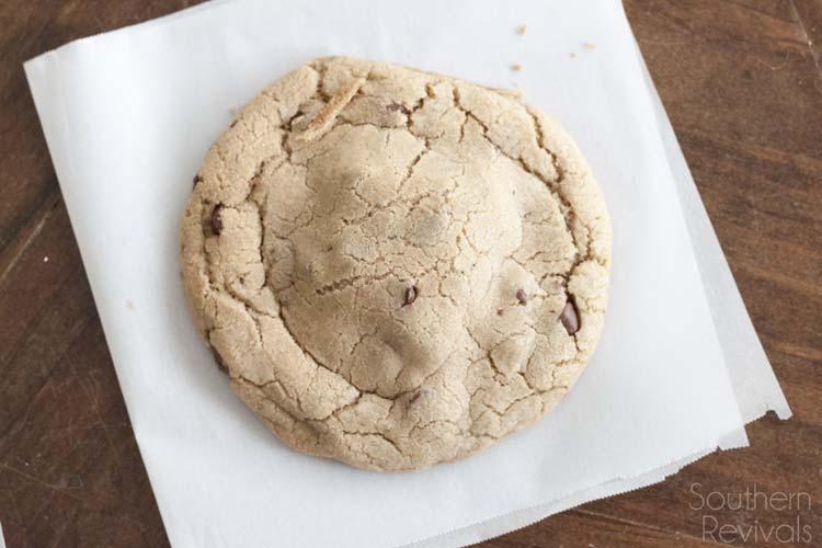 Fudge Nut Brownie Stuffed Chocolate Chip Cookies