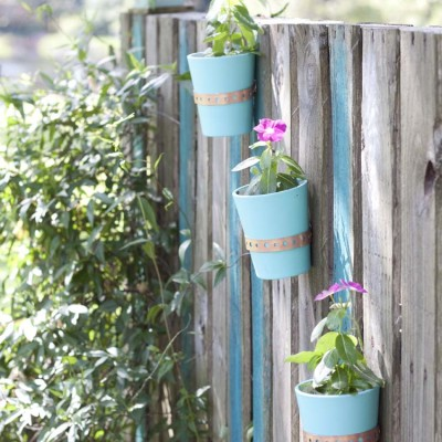 DIY Pallette Garden Wall