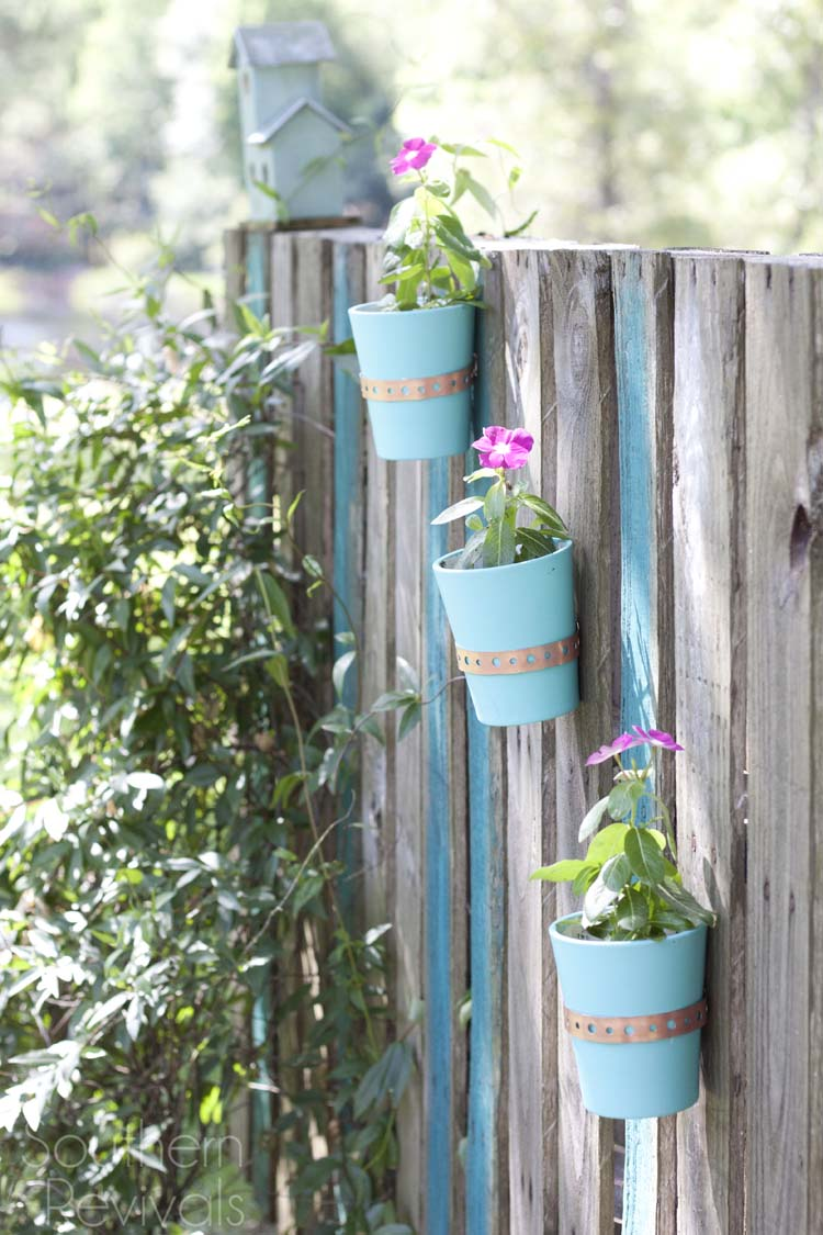 DIY Pallette Garden Wall