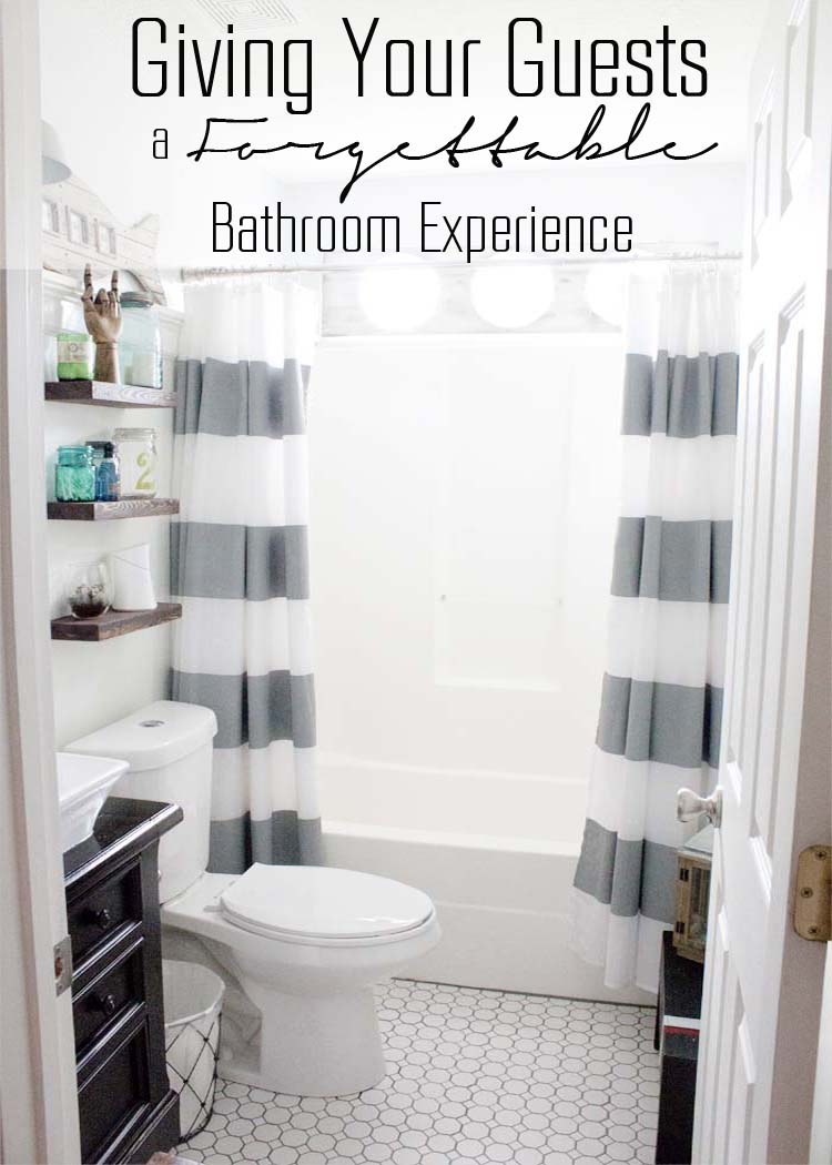 Forgettable Bathroom Experience