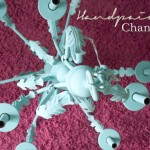 Hand Painted Chandelier Makeover