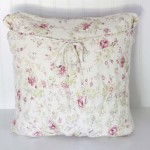 Upcycled Maternity Dress Pillow Cover