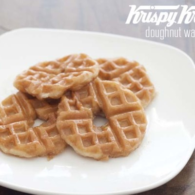 Doughnut Waffles Krispy Kreme 78th Birthday