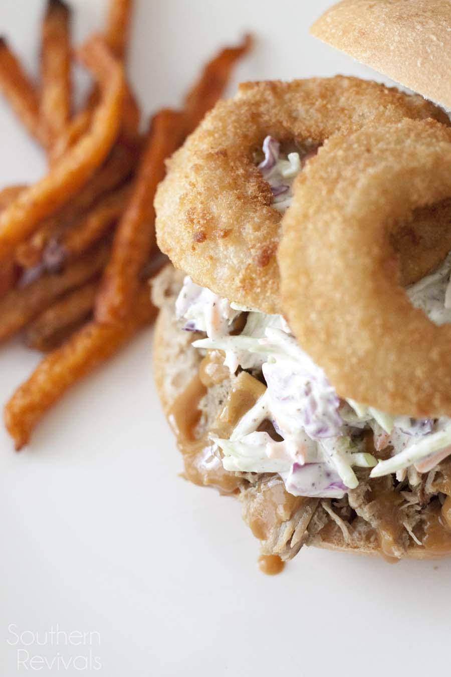 Southern BBQ Slaw Sandwich