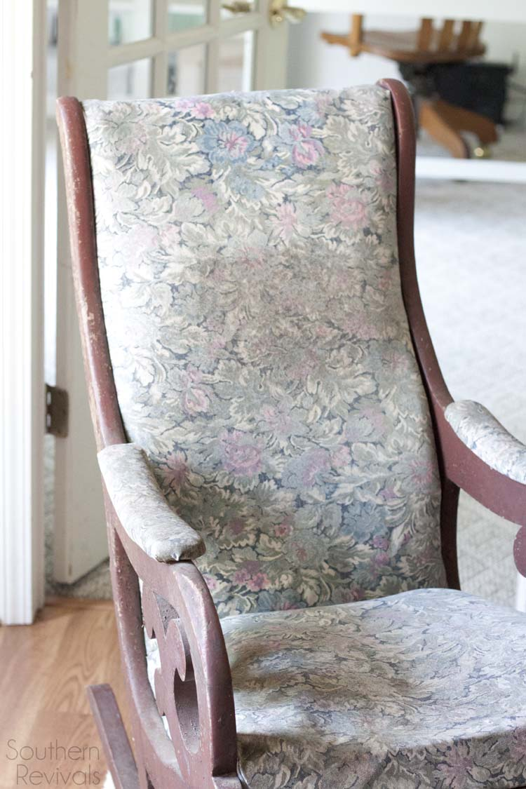 Antique Chair Restoration Makeover