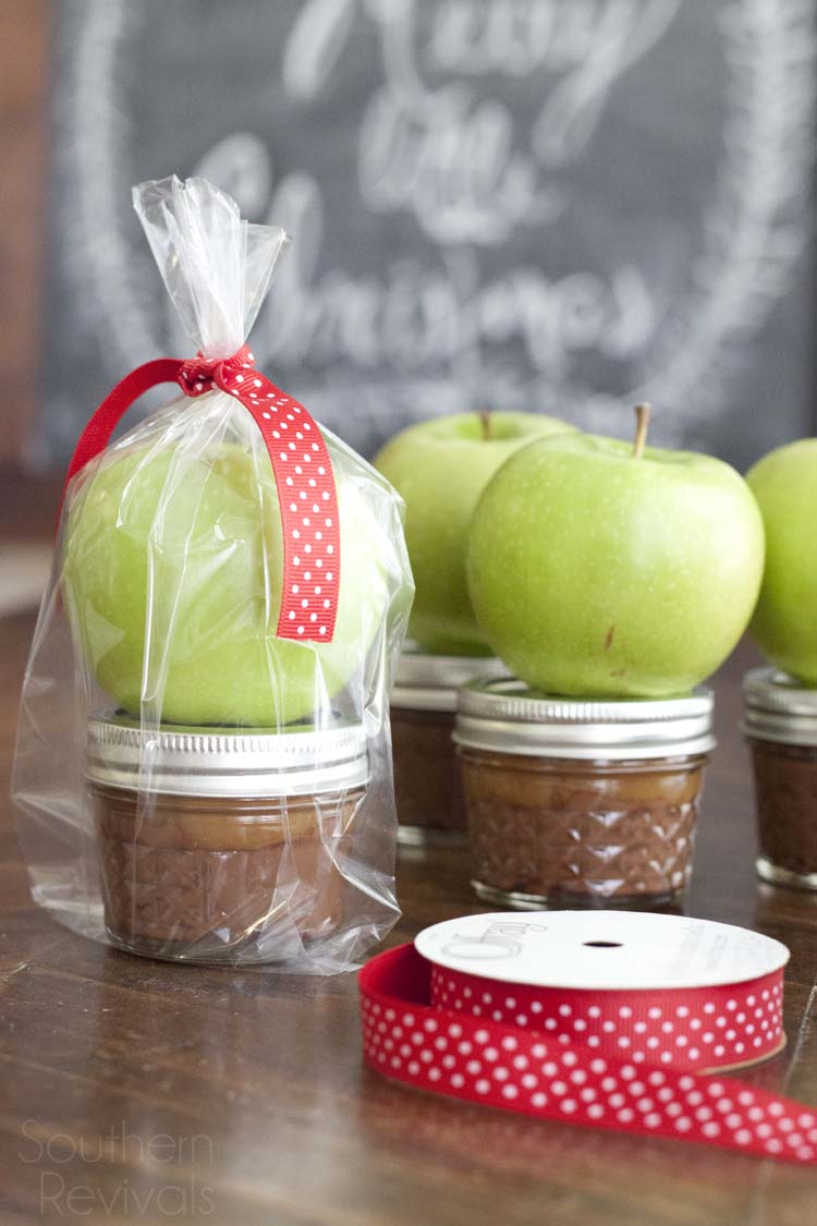 Apple Caramel Nutella Teacher's Gift