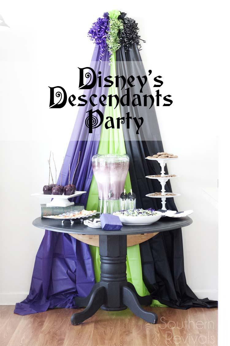 Disney Descendants Party