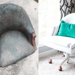 Painted Pleather Chair