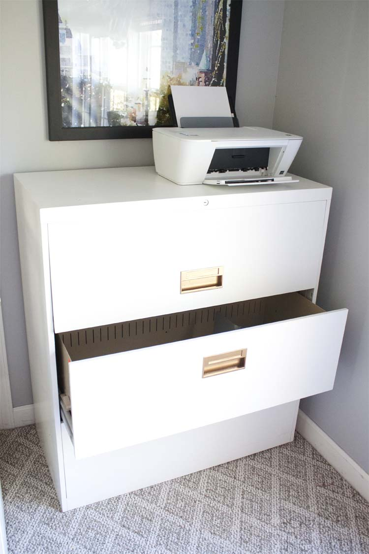 $20 File Cabinet Makeover