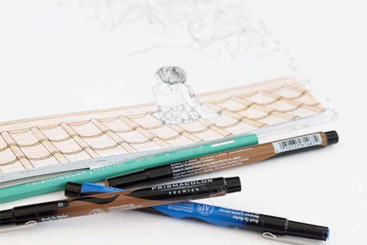 The Zen Behind the Trend of Adult Coloring