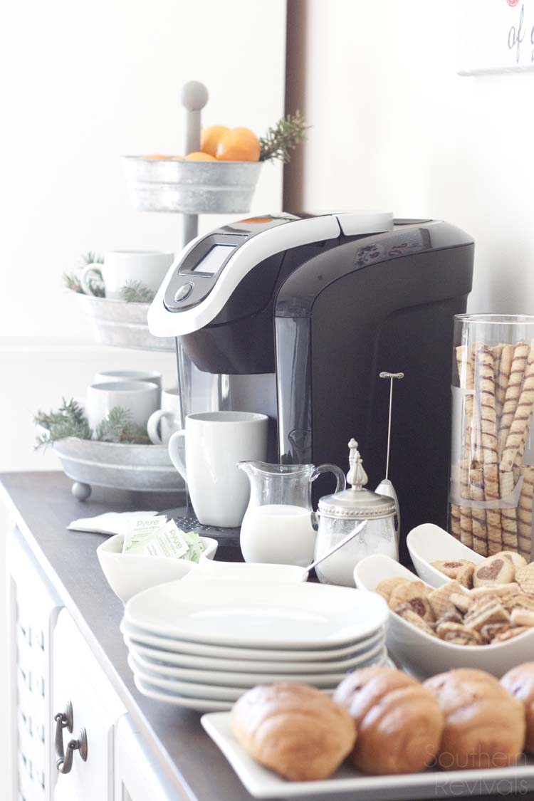 Hosting a Holiday Coffee Bar