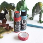 DIY Dinosaur Tic Tac Toe – Valentine's Day Party Game