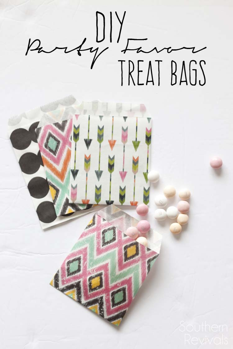 DIY Party Favor Treat Bags