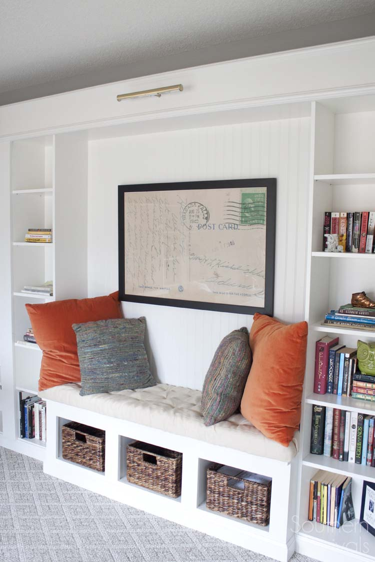 office book shelf. Office Makeover Reveal | IKEA Hack Built-in Billy Bookcases Book Shelf