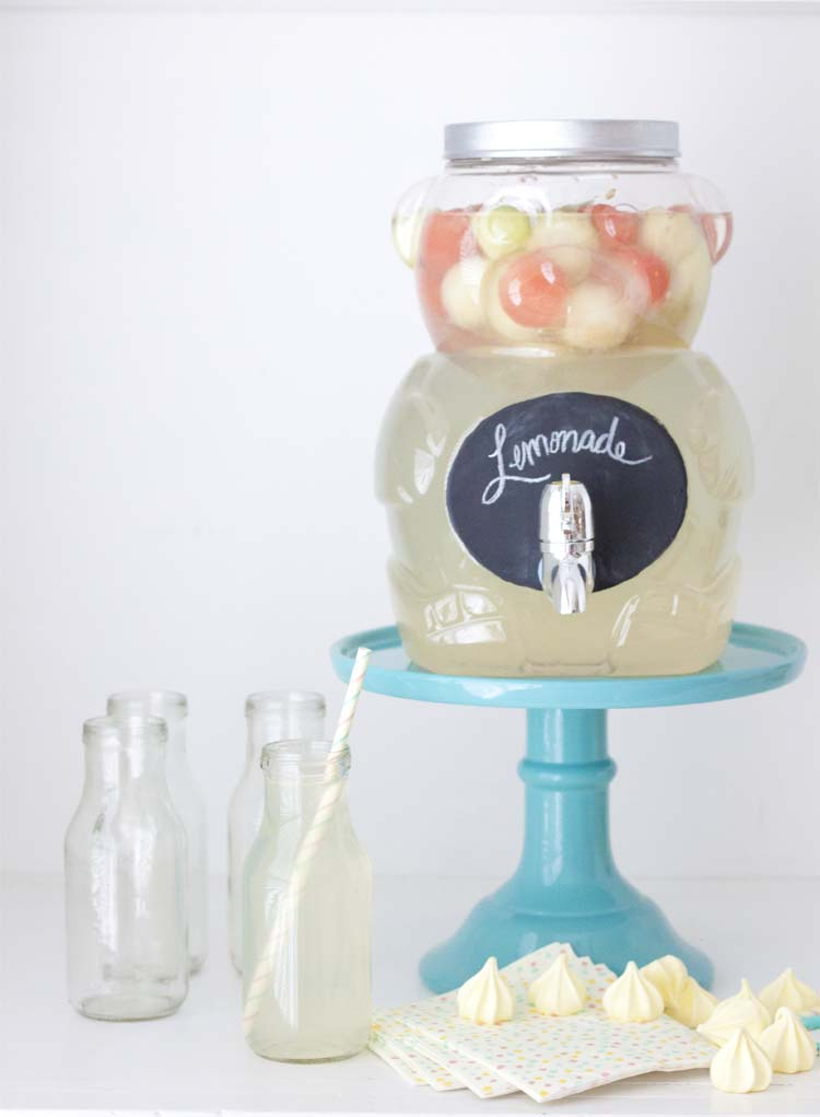 Animal Cracker Bear Jug DIY Beverage Dispenser