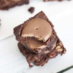DOVE Eggs Peanut Butter Fudge Brownies | FREE Printable