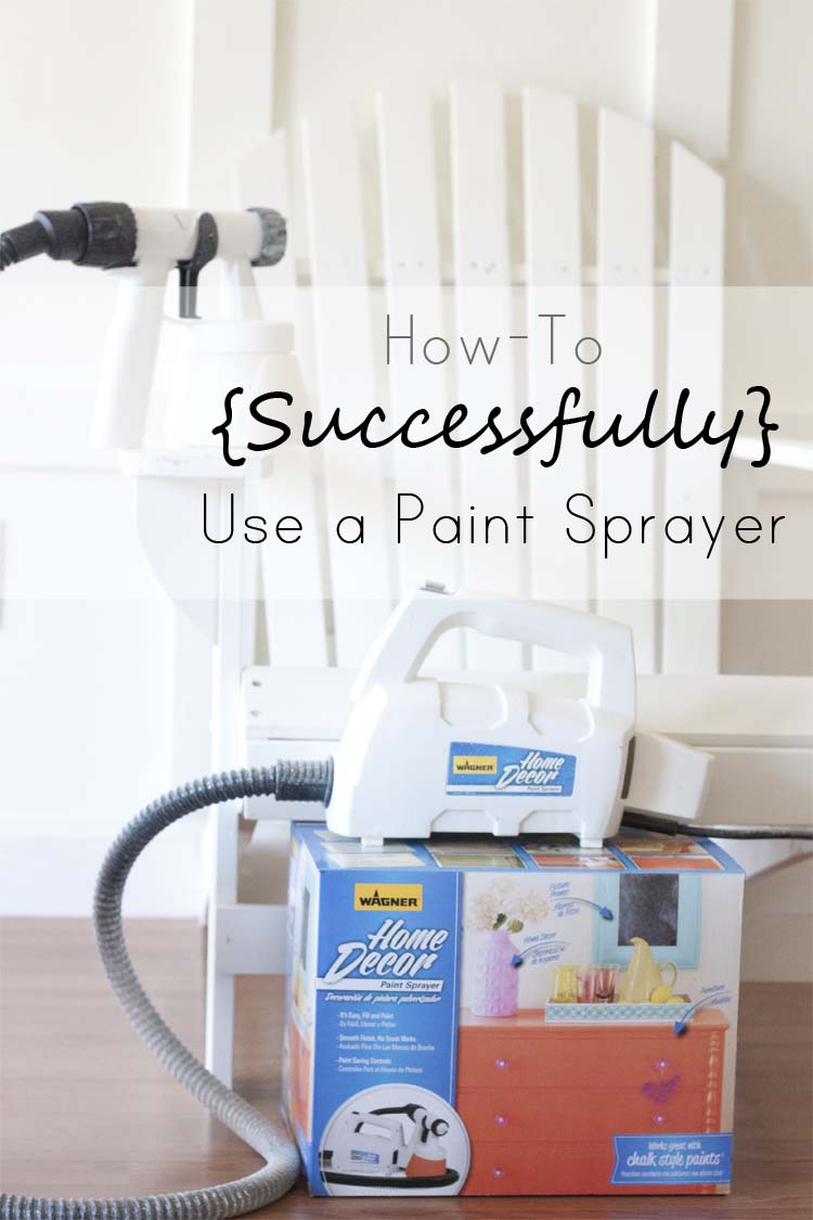 How to Successfully Use a Spray Painter