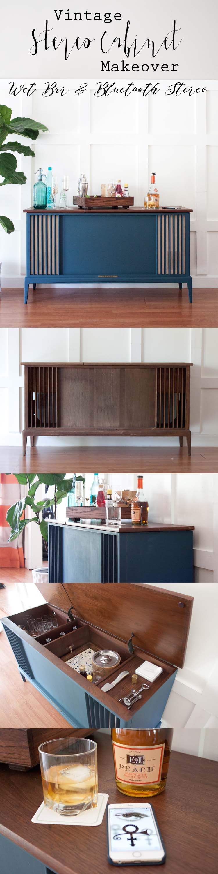important attributable stereo in rare turntable music and record cabinet player holder radio furniture vintage mahogany walnut antique stands