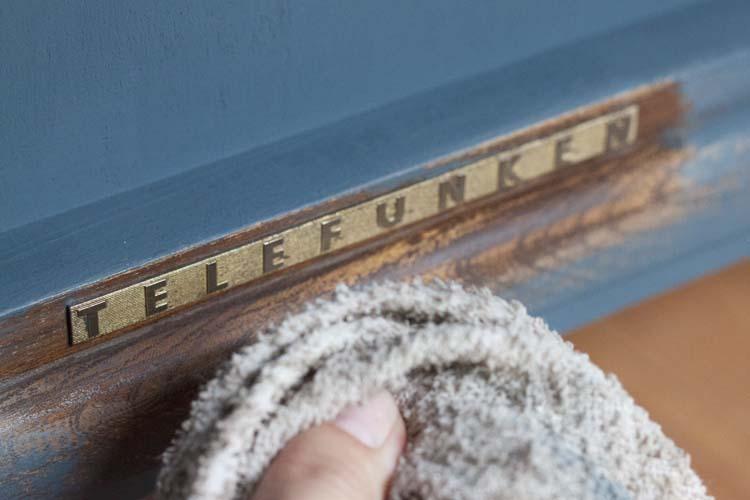 Telefunken Vintage Stereo Cabinet