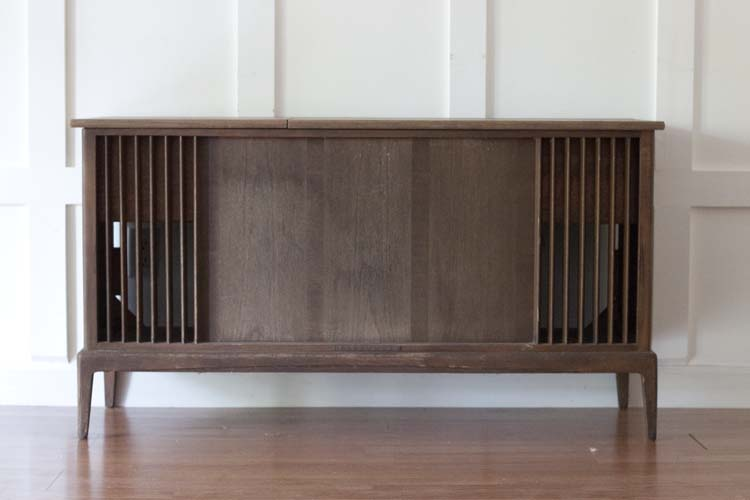 Telefunken Vintage Stereo Cabinet - Vintage Stereo Cabinet Makeover With Bluetooth And Wet Bar