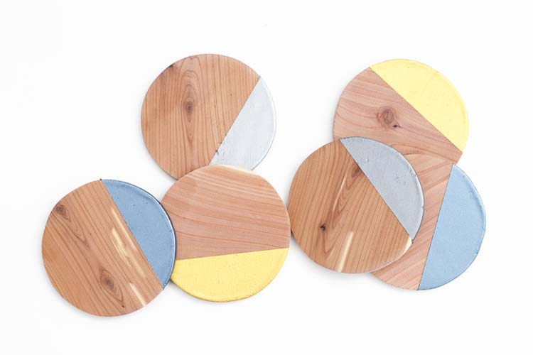 Metallic-Dipped-Wooden-Coasters2