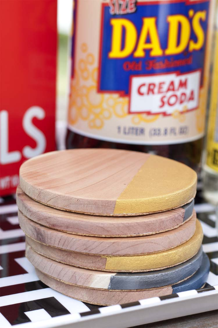 Metallic-Dipped-Wooden-Coasters3