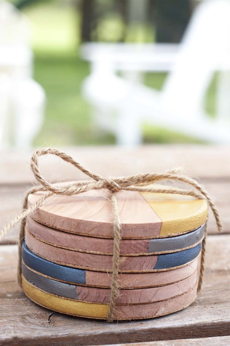 Metallic-Dipped-Wooden-Coasters8