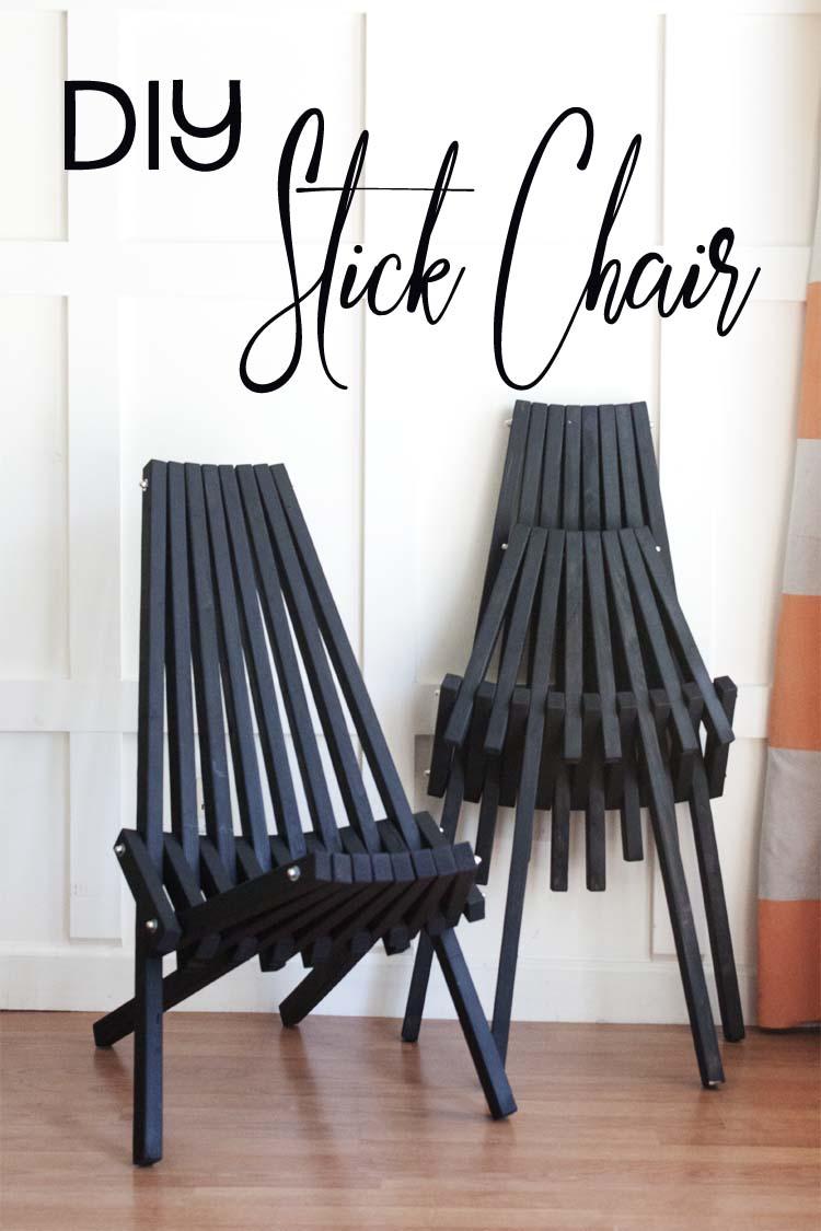 DIY Kentucky Stick Chairs