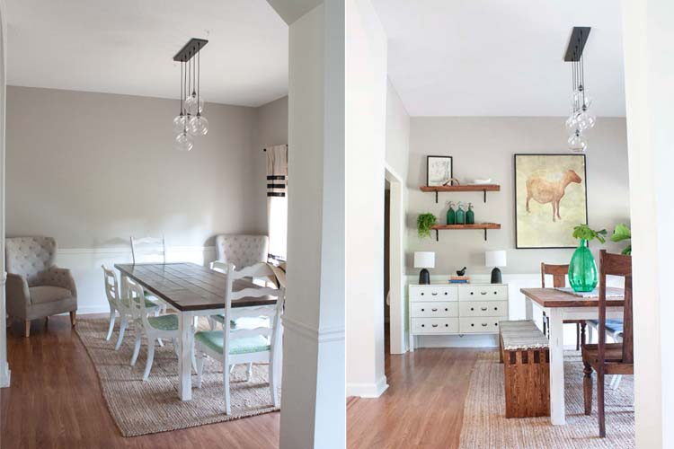 Modern-Farmhouse-Dining-Room-Makeover-Before-After 10