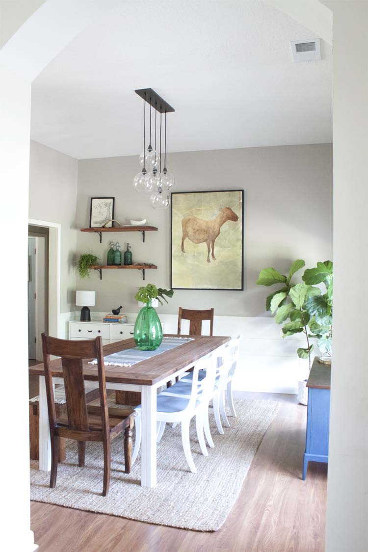 Modern-Farmhouse-Dining-Room-Makeover-Reveal 3