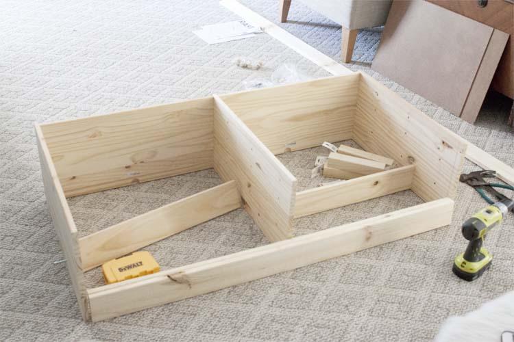 DIY Buffet IKEA Rast Hack 2
