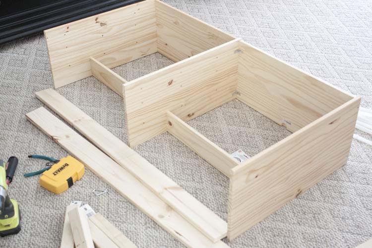 DIY Buffet IKEA Rast Hack 3