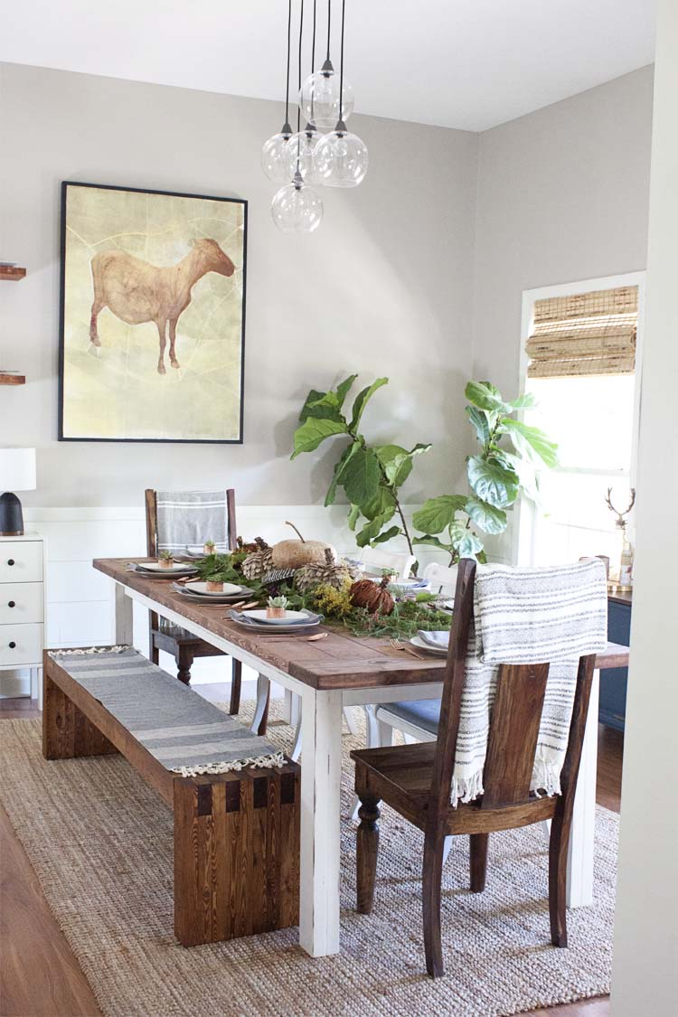 Farmhouse Style My Fall Table Decor Southern Revivals
