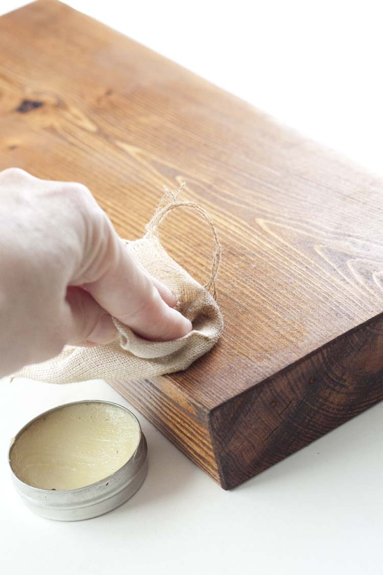 DIY Rustic Leather Handle Tray | Williams Sonoma Inspired