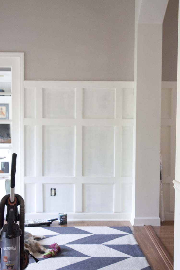 Farmhouse Chic Foyer : Modern farmhouse entryway makeover before after