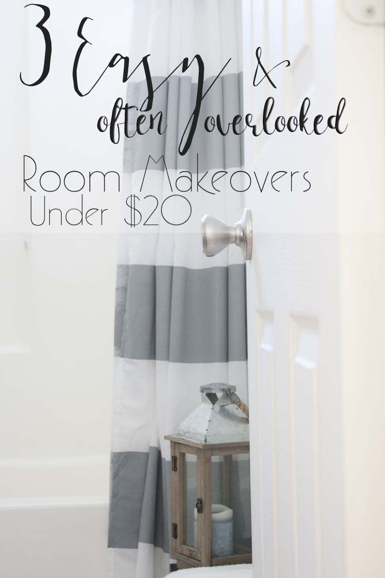 3 Easy (and Overlooked) Room Makeovers for Under $20