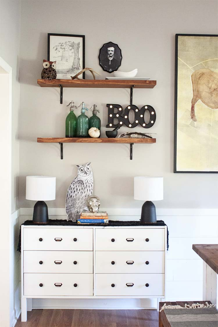 Modern Farmhouse Halloween Home Tour