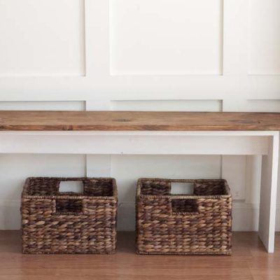 Easy DIY Bench – Modern or Farmhouse