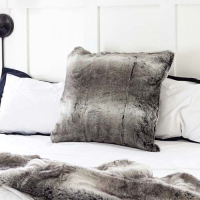 5 Ways With Faux Fur | Decor Ideas