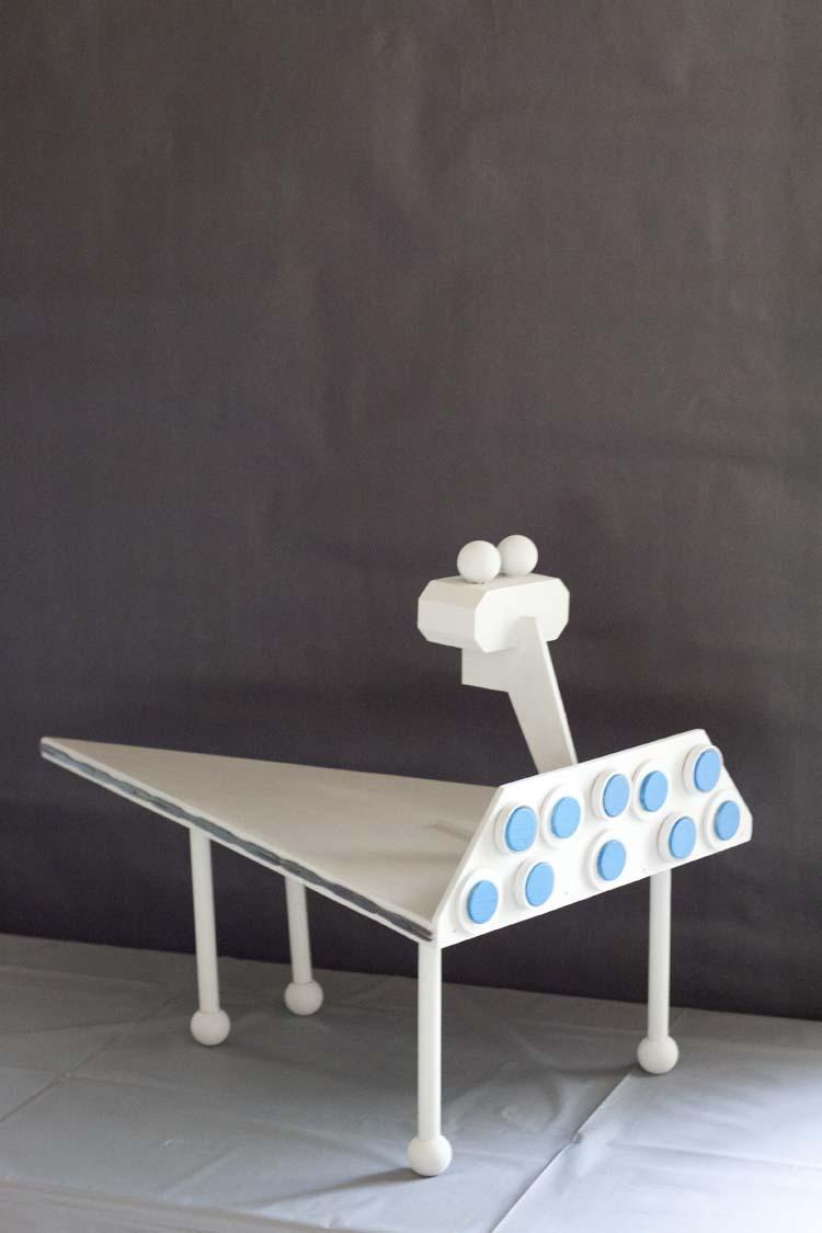 DIY Star Destroyer Cupcake Stand | Star Wars