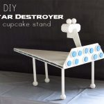 Star Wars Inspired DIY Star Destroyer Cupcake Stand