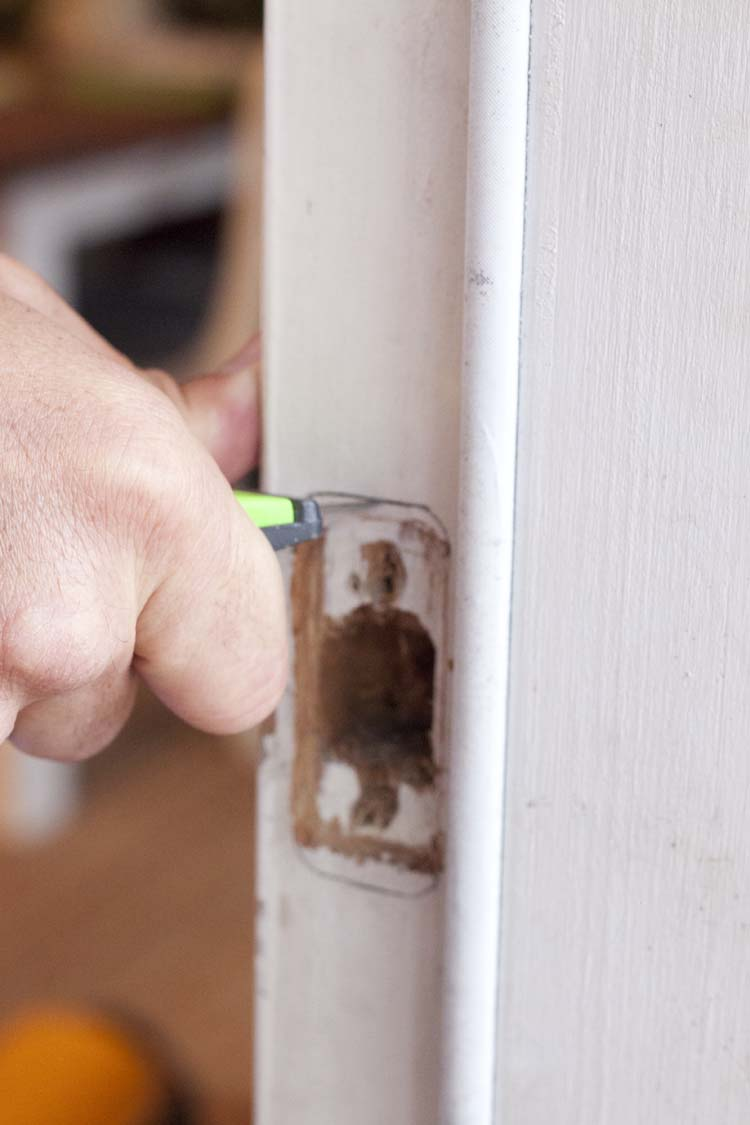 Front Porch Makeover | How to Install a Smart Lock