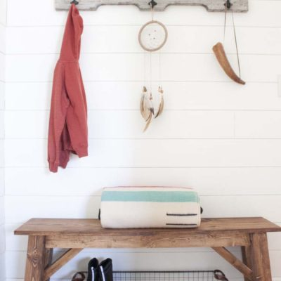 Farmhouse Style Organizing Ideas (On a Budget!)