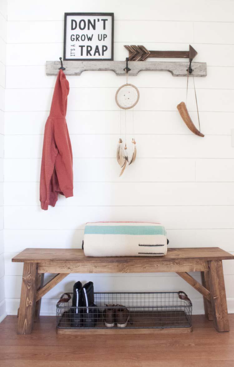 Farmhouse Style Organizing Ideas