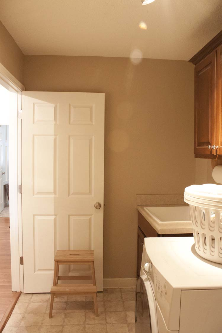 Modern Farmhouse Laundry Room Makeover | The Plan