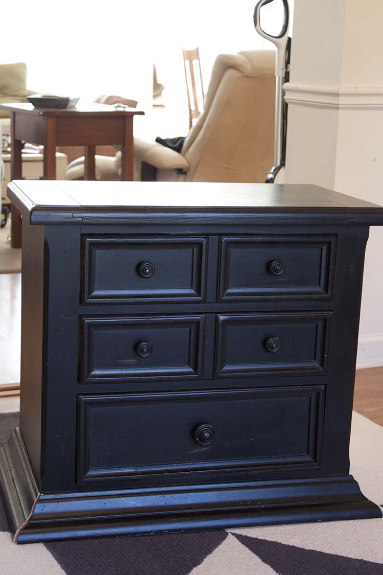 Nightstand Bathroom Vanity Vessel Sink