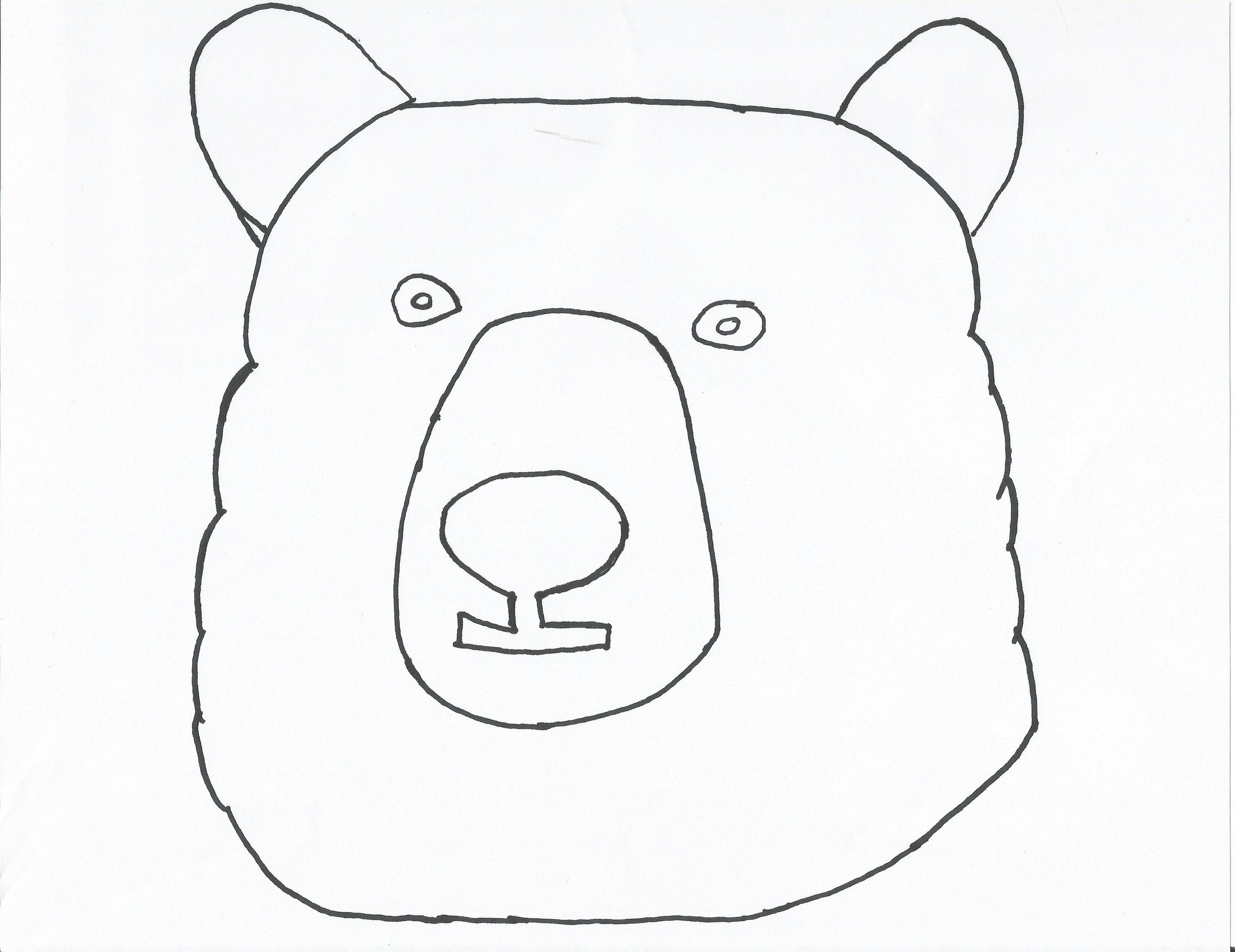 DIY Hand Stitched Bear Pillow